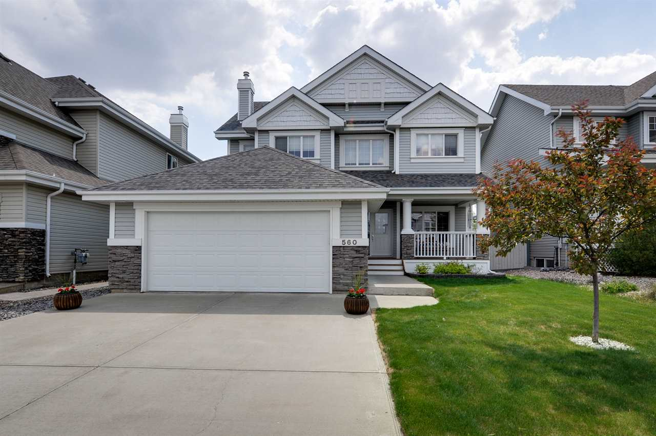 Main Photo: 560 STEWART Crescent in Edmonton: Zone 53 House for sale : MLS(r) # E4063053