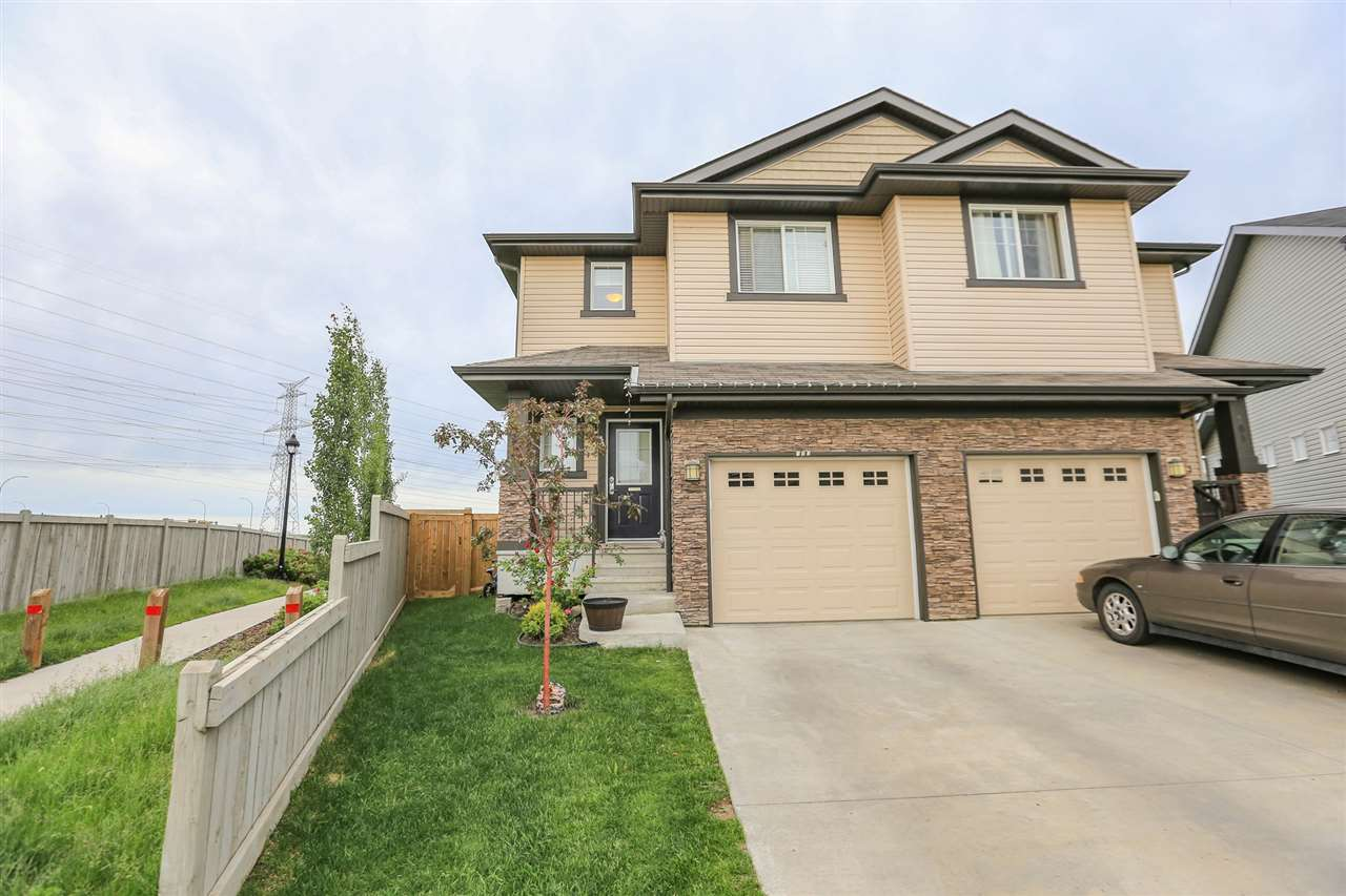 Main Photo: 103 51 Street in Edmonton: Zone 53 House Half Duplex for sale : MLS® # E4077369