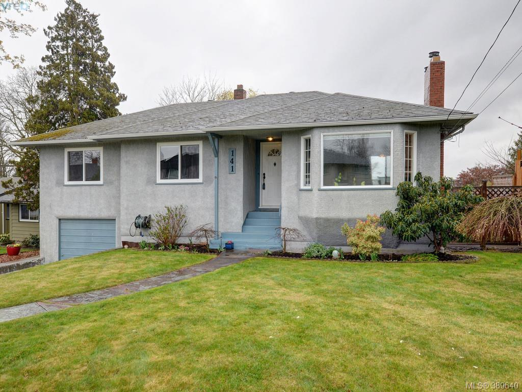 Main Photo: 141 Kamloops Avenue in VICTORIA: SW Tillicum Single Family Detached for sale (Saanich West)  : MLS®# 389640