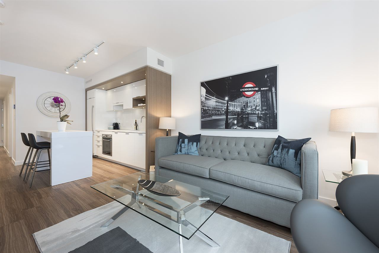 "Main Photo: 612 1661 QUEBEC Street in Vancouver: Mount Pleasant VE Condo for sale in ""VODA AT THE CREEK"" (Vancouver East)  : MLS®# R2257530"