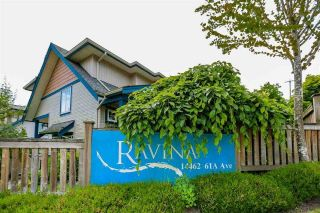 "Main Photo: 16 14462 61A Avenue in Surrey: Sullivan Station Townhouse for sale in ""RAVINA"" : MLS®# R2291990"