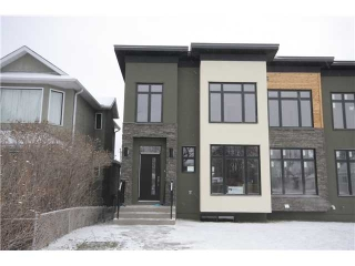 Main Photo: 2640 26 A Street SW in CALGARY: Killarney Glengarry Residential Attached for sale (Calgary)  : MLS® # C3500453