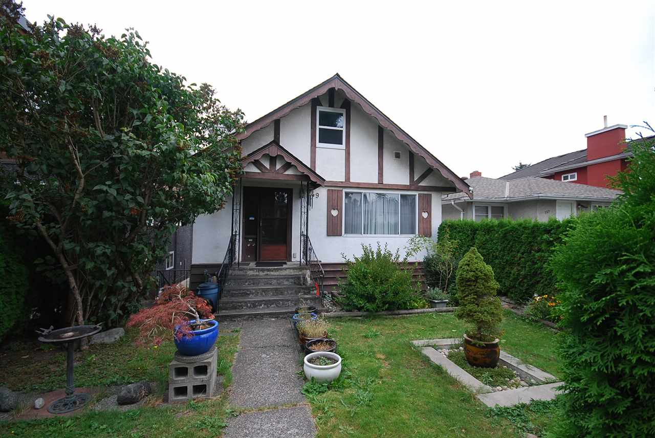 Main Photo: 749 E 31ST Avenue in Vancouver: Fraser VE House for sale (Vancouver East)  : MLS®# R2100025