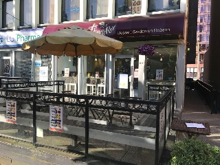 Main Photo: ~ LARGE PATIO ON ROBSON ~ in : Downtown Business Only for sale (Vancouver)  : MLS(r) # C8012660