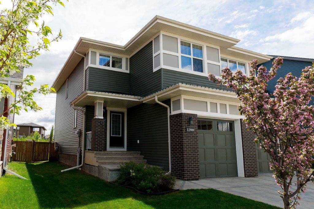 Main Photo: 12909 205 Street in Edmonton: Zone 59 House Half Duplex for sale : MLS® # E4070622