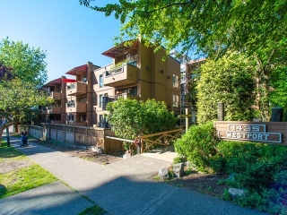 "Main Photo: 105 1435 NELSON Street in Vancouver: West End VW Condo for sale in ""WESTPORT"" (Vancouver West)  : MLS®# R2193333"