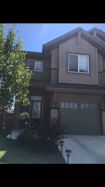 Main Photo: 5513 CRABAPPLE Loop in Edmonton: Zone 53 House Half Duplex for sale : MLS® # E4081563