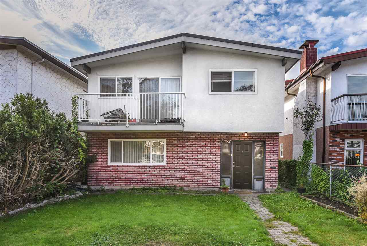 Main Photo: 2892 E 14TH Avenue in Vancouver: Renfrew Heights House for sale (Vancouver East)  : MLS® # R2209163
