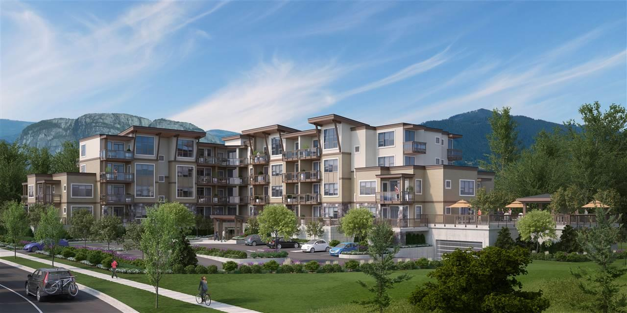 "Main Photo: 303 1150 BAILEY Street in Squamish: Downtown SQ Condo for sale in ""ParkHouse"" : MLS®# R2225685"
