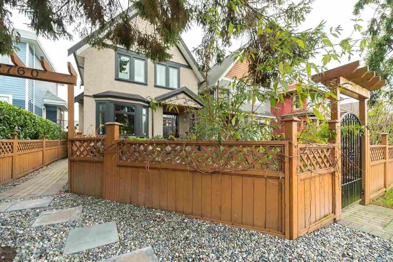 Main Photo: 2760 W 3RD Avenue in Vancouver: Kitsilano House 1/2 Duplex for sale (Vancouver West)  : MLS®# R2226688