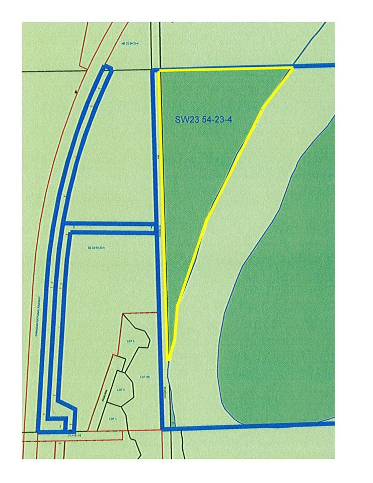 Main Photo: TWP 540 to Range Rd 230: Rural Sturgeon County Rural Land/Vacant Lot for sale : MLS®# E4117726