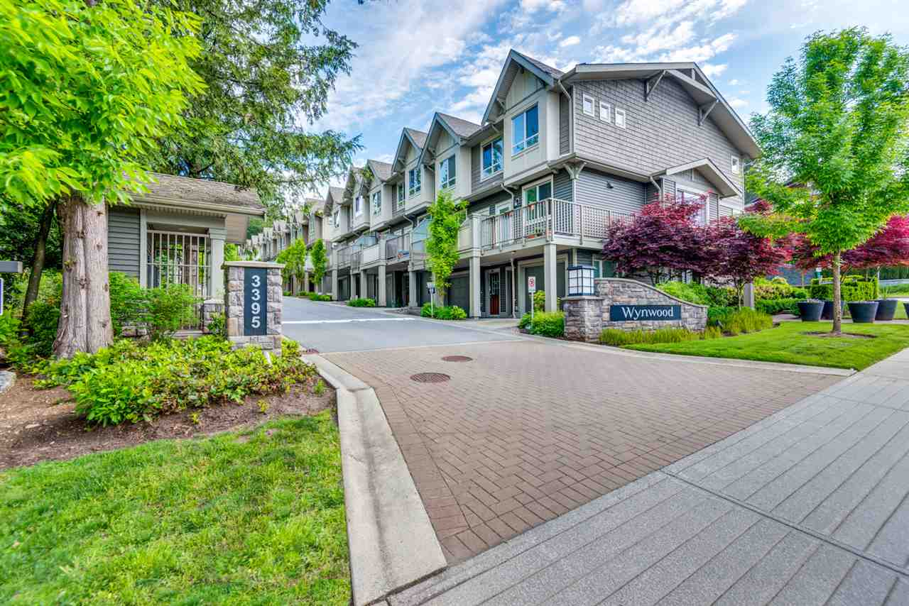 Main Photo: 22 3395 GALLOWAY Avenue in Coquitlam: Burke Mountain Townhouse for sale : MLS®# R2294287