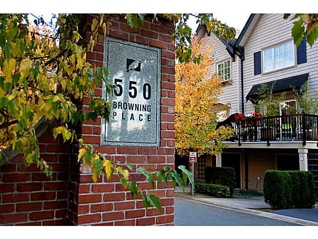 Main Photo: # 23 550 BROWNING PL in North Vancouver: Seymour Townhouse for sale : MLS®# V1009270