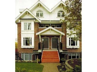 Main Photo: 2856 SPRUCE Street in Vancouver West: Fairview VW Home for sale ()  : MLS® # V954690