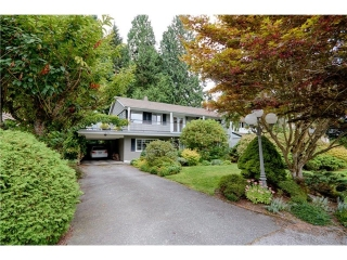 Main Photo: 1265 RYDAL Avenue in North Vancouver: Canyon Heights NV House for sale : MLS® # V1084846