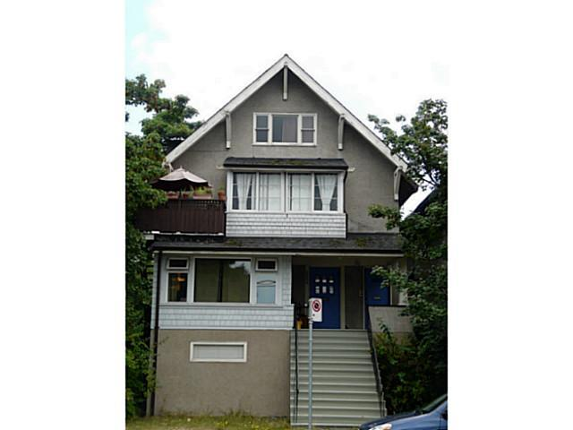 Main Photo: 2204 MACDONALD Street in Vancouver: Kitsilano House for sale (Vancouver West)  : MLS® # V1134340