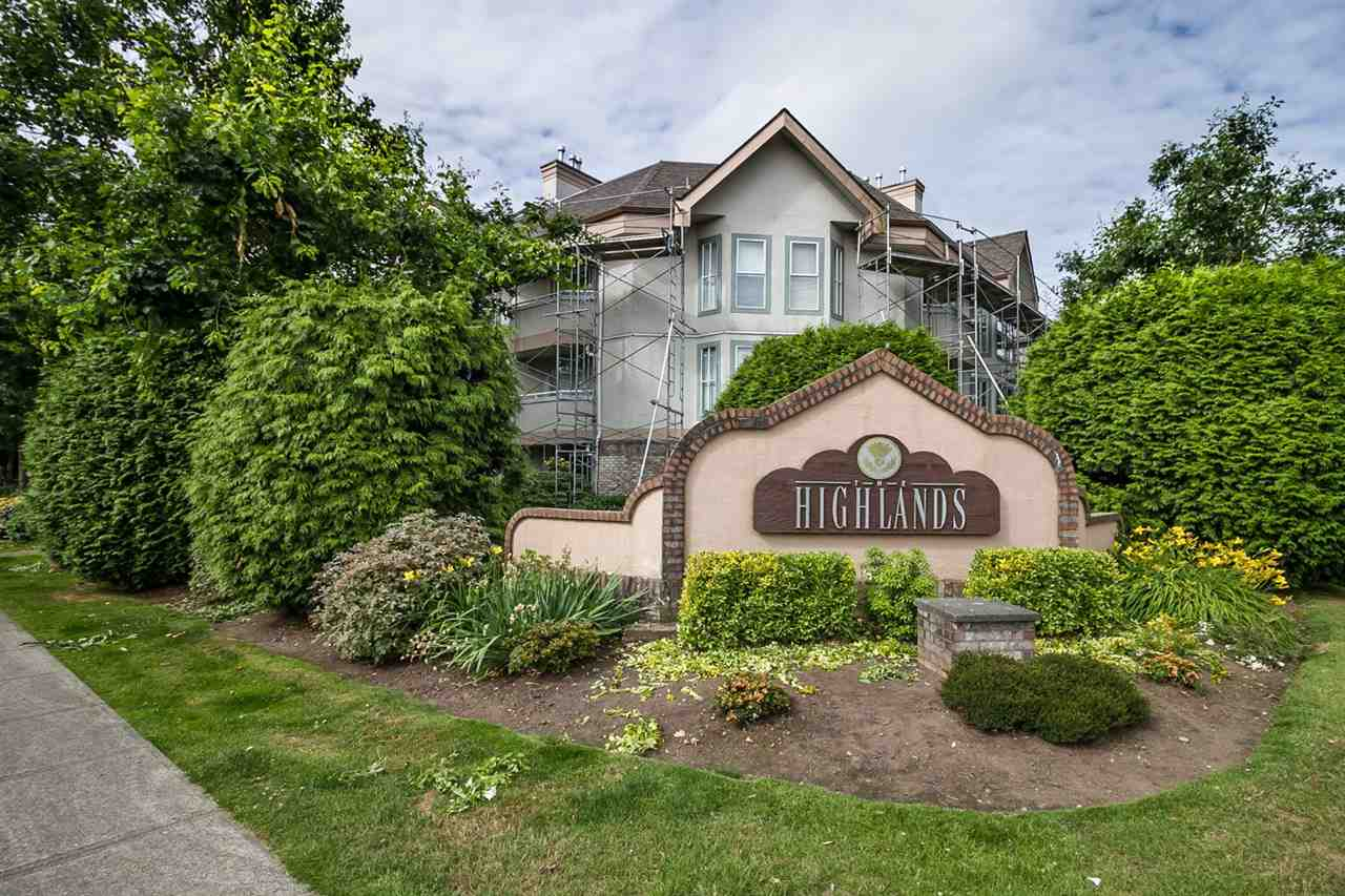 "Main Photo: 103 7171 121 Street in Surrey: West Newton Condo for sale in ""THE HIGHLANDS"" : MLS® # R2086342"