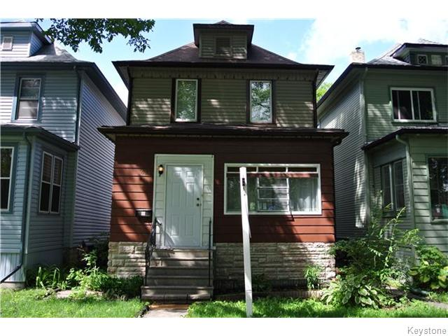 Main Photo: 484 Clifton Street in Winnipeg: Wolseley Residential for sale (5B)  : MLS®# 1619639
