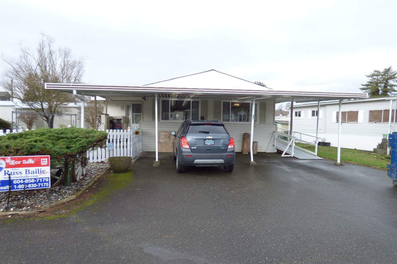 "Main Photo: 97 45640 WATSON Road in Chilliwack: Vedder S Watson-Promontory Manufactured Home for sale in ""WESTWOOD ESTATES"" (Sardis)  : MLS(r) # R2119824"