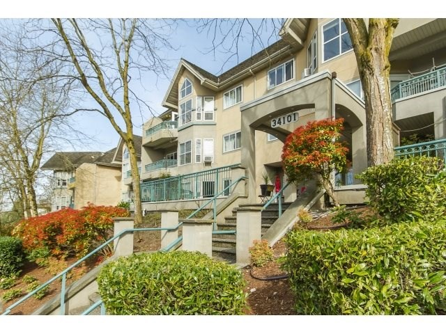 "Main Photo: 409 34101 OLD YALE Road in Abbotsford: Central Abbotsford Condo for sale in ""Yale Terrace"" : MLS®# R2122003"