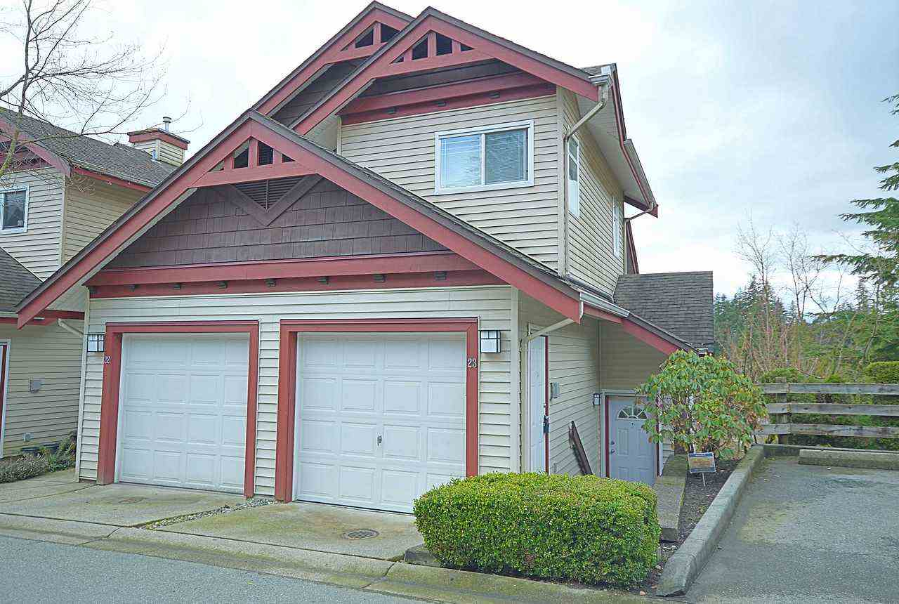 "Main Photo: 23 15 FOREST PARK Way in Port Moody: Heritage Woods PM Townhouse for sale in ""DISCOVERY RIDGE"" : MLS® # R2148840"