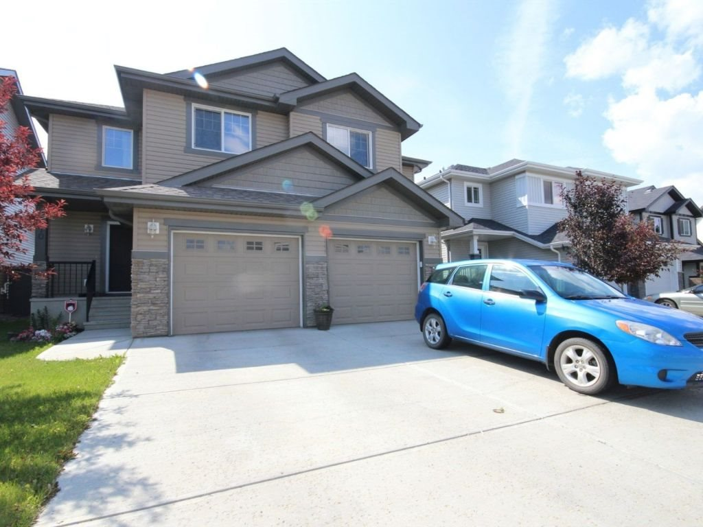 Main Photo: 2370 Casselman Crescent in Edmonton: Zone 55 House Half Duplex for sale : MLS® # E4073876