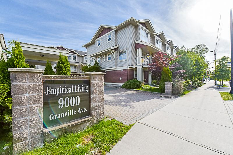 "Main Photo: 5 9000 GRANVILLE Avenue in Richmond: McLennan North Townhouse for sale in ""EMPERICAL LIVING"" : MLS®# R2189583"