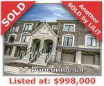 Main Photo: 27 Duncombe Lane in Richmond Hill: South Richvale Freehold for sale
