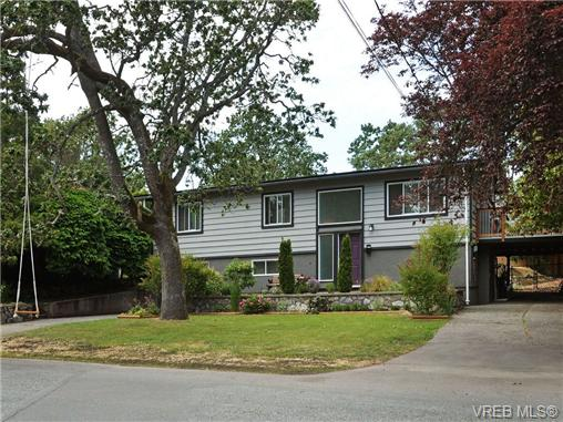 Main Photo: VICTORIA REAL ESTATE For Sale = QUADRA HOME For Sale SOLD With Ann Watley