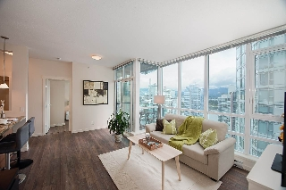 Main Photo: 2702 1189 MELVILLE Street in Vancouver: Coal Harbour Condo for sale (Vancouver West)  : MLS(r) # R2160244
