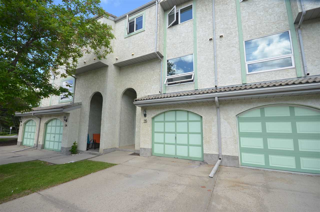 Main Photo: 35 9520 174 Street in Edmonton: Zone 20 Townhouse for sale : MLS(r) # E4069275
