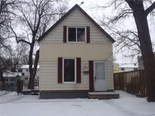Main Photo: 396 Lariviere Street in Winnipeg: Norwood Residential for sale (2B)  : MLS® # 1729641