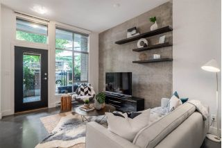 "Main Photo: 353 W 11TH Avenue in Vancouver: Mount Pleasant VW Townhouse for sale in ""SOMA LOFTS`"" (Vancouver West)  : MLS®# R2282327"