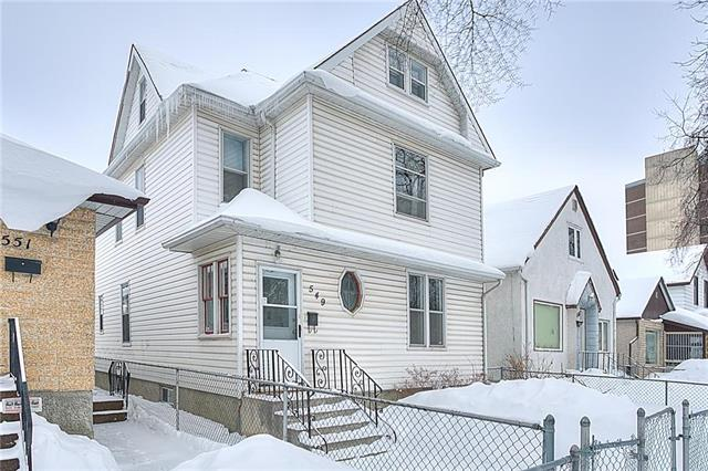 FEATURED LISTING: 549 Elgin Avenue Winnipeg
