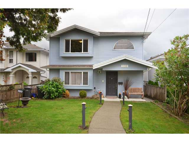 Main Photo: 338 E 6TH Avenue in New Westminster: The Heights NW House for sale : MLS® # V914175