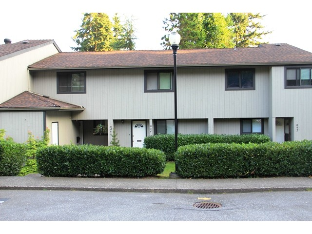 Main Photo: 846 BLACKSTOCK Road in Port Moody: North Shore Pt Moody Condo for sale : MLS(r) # V986667