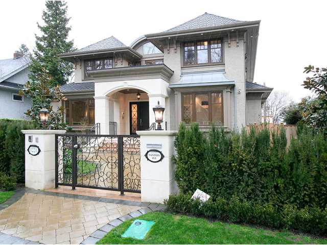Main Photo: 1221 NANTON Avenue in Vancouver: Shaughnessy House for sale (Vancouver West)  : MLS(r) # V1039573