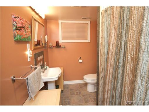 Suite bathroom with heated tile floors