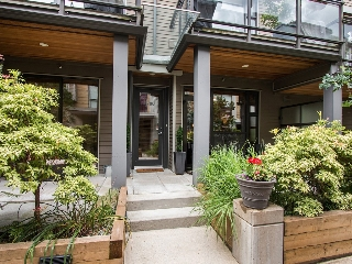 "Main Photo: 3796 COMMERCIAL Street in Vancouver: Victoria VE Townhouse for sale in ""BRIX"" (Vancouver East)  : MLS® # R2090681"