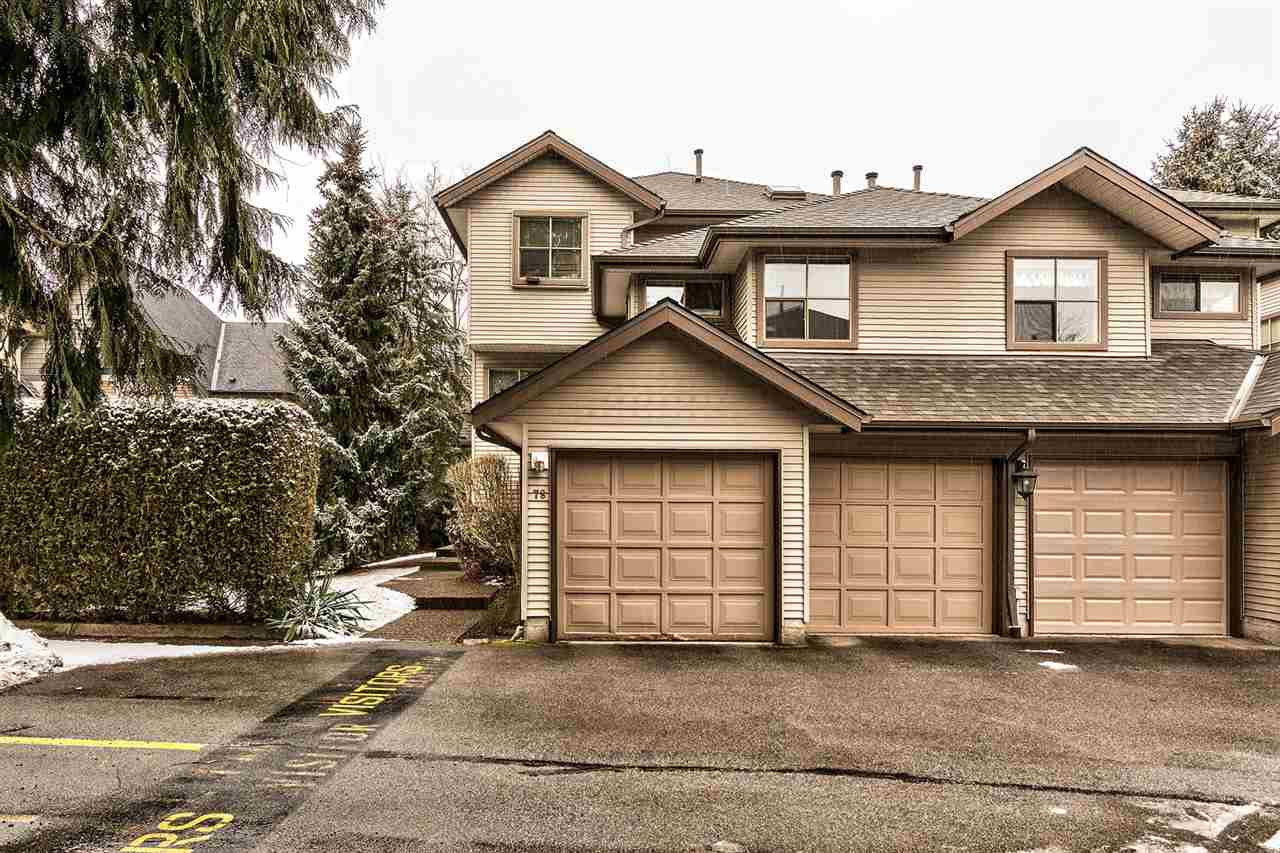 "Main Photo: 78 19160 119 Avenue in Pitt Meadows: Central Meadows Townhouse for sale in ""WINDSOR OAK"" : MLS® # R2142840"