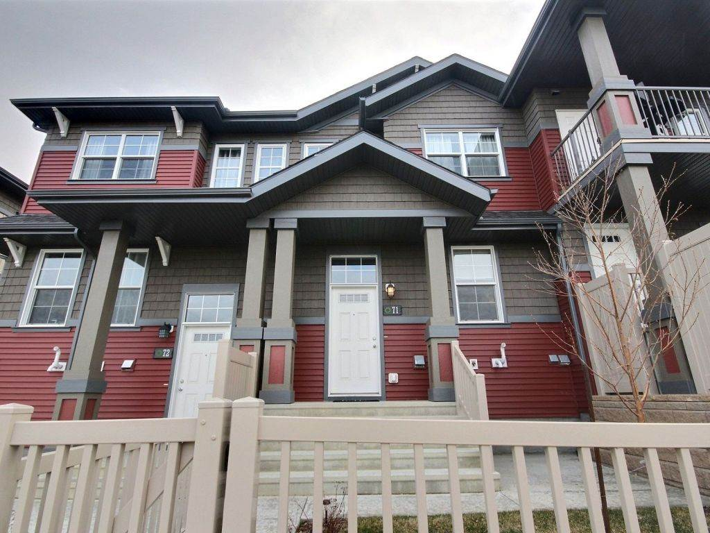 Main Photo: 71 4029 Orchards Drive in Edmonton: Zone 53 Townhouse for sale : MLS(r) # E4062392