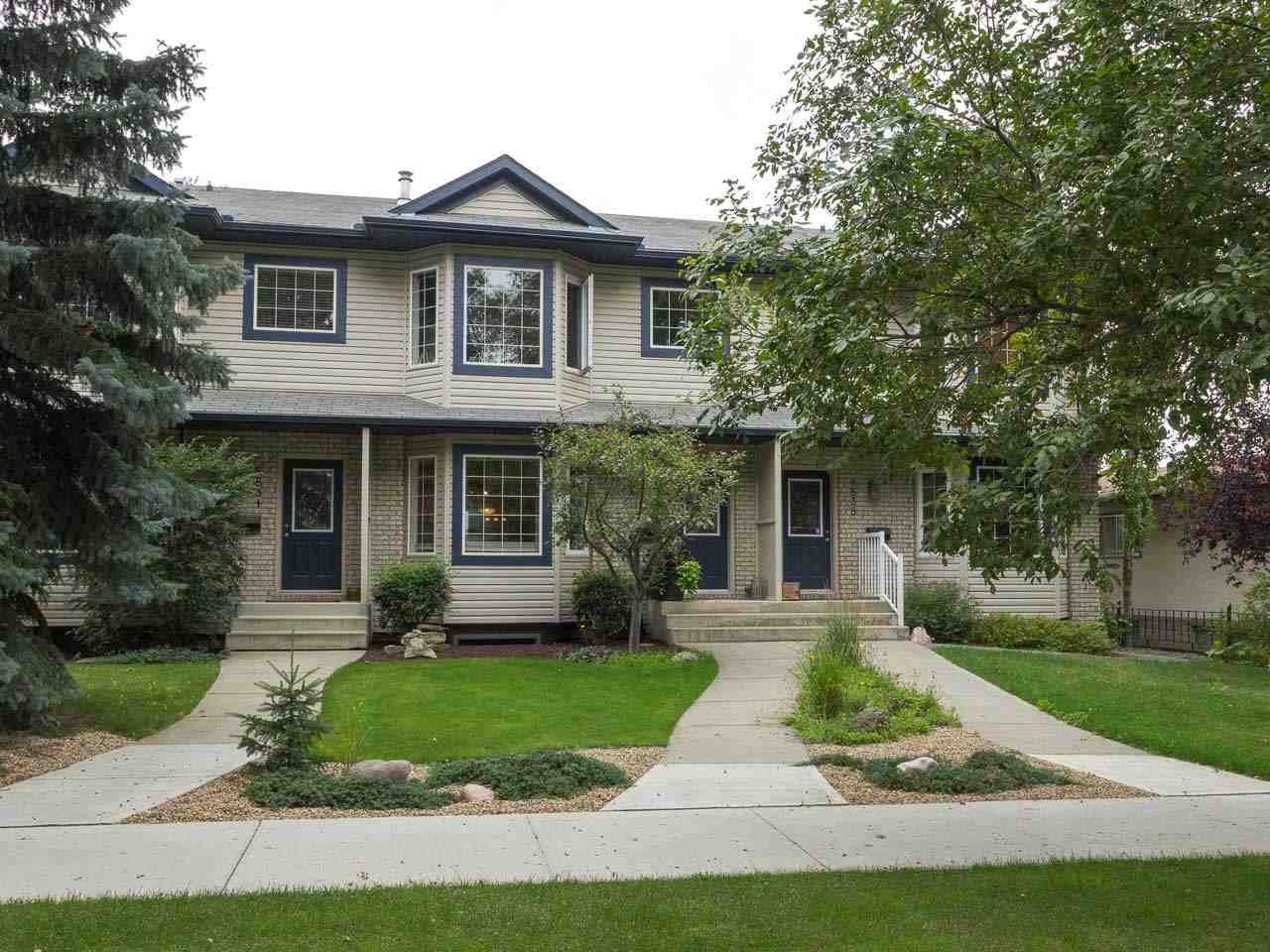 Main Photo: 8836 94 Street in Edmonton: Zone 18 Attached Home for sale : MLS® # E4077447