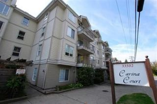 "Main Photo: 205 33502 GEORGE FERGUSON Way in Abbotsford: Central Abbotsford Condo for sale in ""Carina Court"" : MLS® # R2215286"