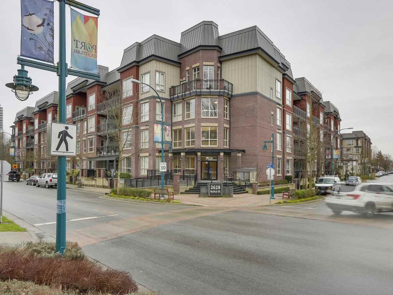 "Main Photo: 415 2628 MAPLE Street in Port Coquitlam: Central Pt Coquitlam Condo for sale in ""Villiagio 2"" : MLS®# R2240579"