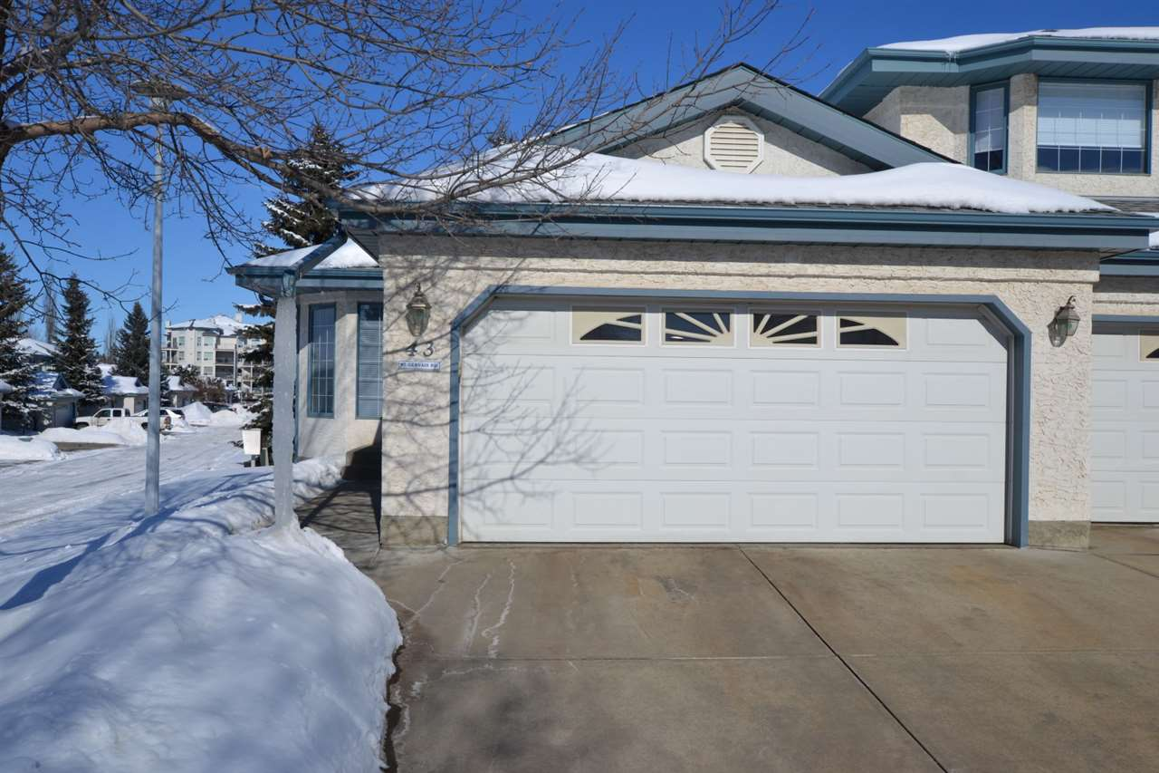 Main Photo: 43 85 GERVAIS Road: St. Albert Townhouse for sale : MLS® # E4099448
