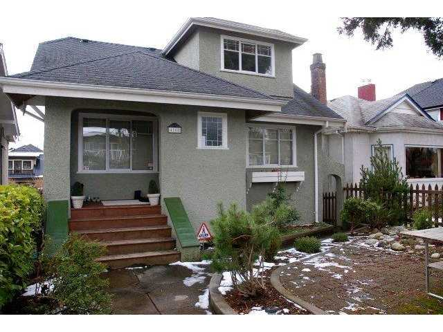 "Main Photo: 4168 W 15TH Avenue in Vancouver: Point Grey House for sale in ""POINT GREY"" (Vancouver West)  : MLS® # V873307"