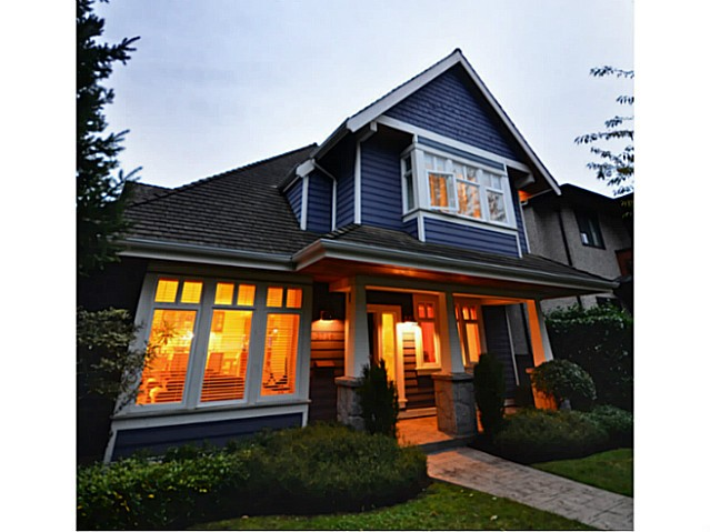 Main Photo: 2716 W 37TH Avenue in Vancouver: Kerrisdale House for sale (Vancouver West)  : MLS® # V1031547