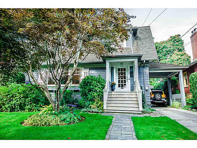 Main Photo: 235 FIFTH Avenue in New Westminster: Queens Park House for sale : MLS®# V1088776
