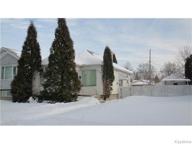 Main Photo: 479 Collegiate Street in Winnipeg: St James Residential for sale (West Winnipeg)  : MLS® # 1603637