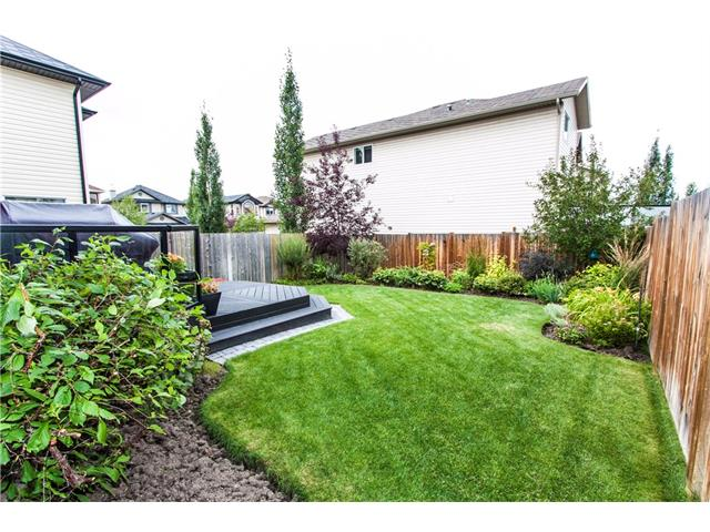 Fully fenced and landscaped yard